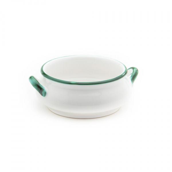Gmundner Keramik Grüner Rand Suppenschale 0.37L