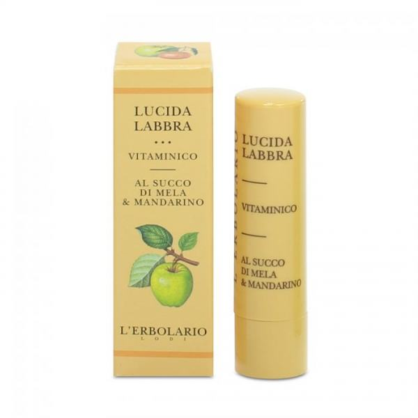 L'erbolario Lippenpflege mit Vitaminen (Apfel, Mandarine) 4,5ml