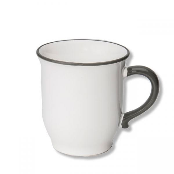 Gmundner Keramik Grauer Rand Schokotasse 0,3L