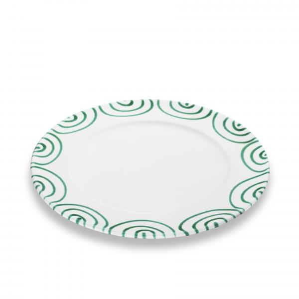 Gmundner Keramik Grüngeflammt Speiseteller Gourmet 29cm