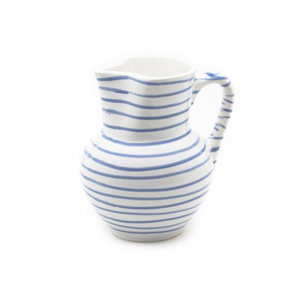 Gmundner Keramik Blaugeflammt Krug Wiener Form (1L)