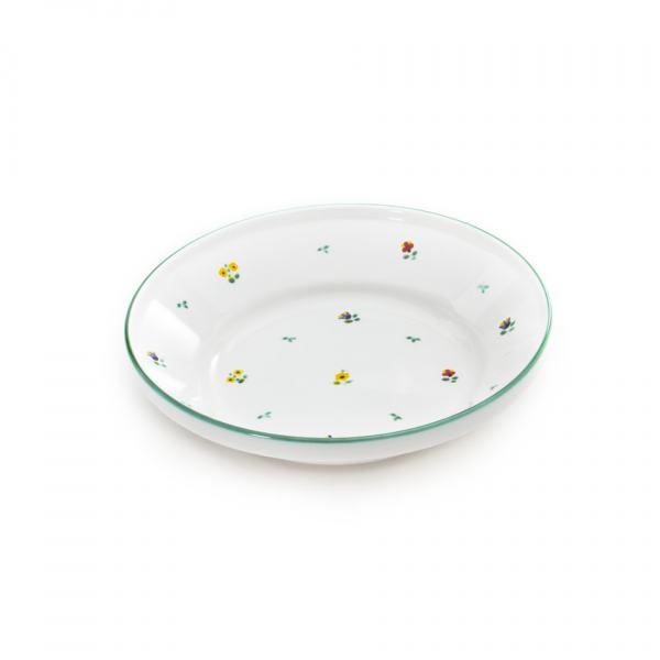 Gmundner Keramik Streublumen Reifschüssel ohne Henkel (Ø 32cm)
