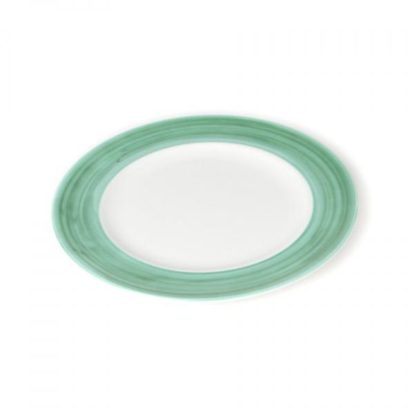 Gmundner Keramik Variation grün Speiseteller Gourmet (Ø 27cm)