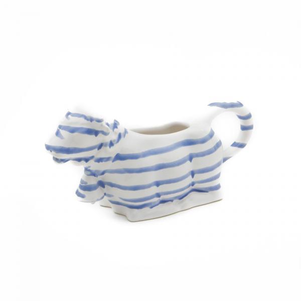 Gmundner Keramik Blaugeflammt Milchkuh 0.16L
