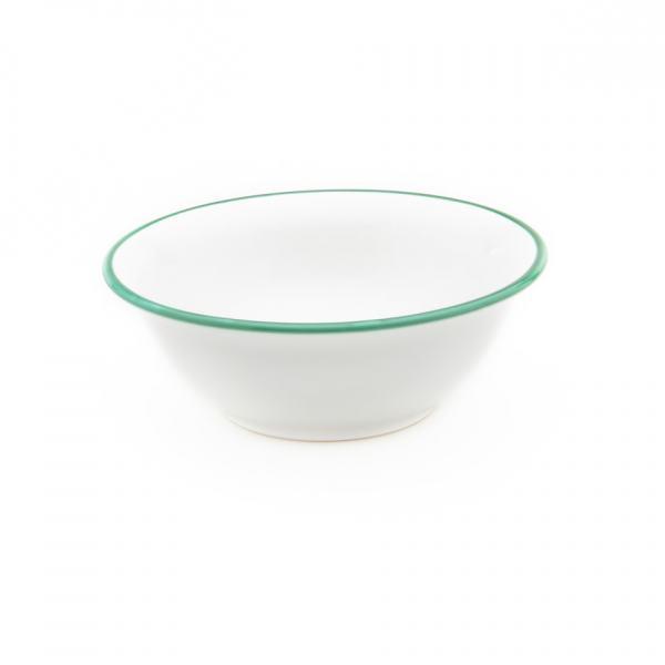 Gmundner Keramik Grüner Rand Salatschüssel Ø 20cm