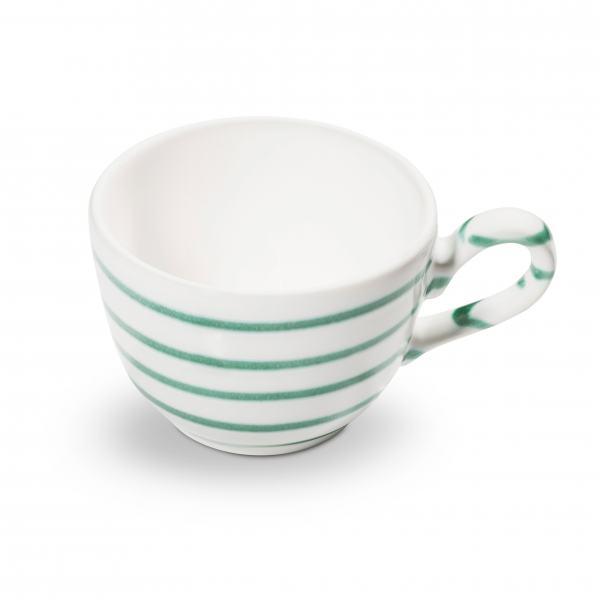 Gmundner Keramik Grüngeflammt Kaffeetasse glatt (0.19L)