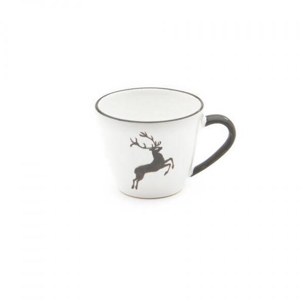 Gmundner Keramik Grauer Hirsch Kaffeetasse Gourmet 0.2L