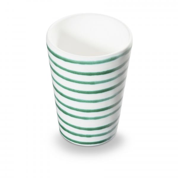 Gmundner Keramik Grüngeflammt Trinkbecher 11cm