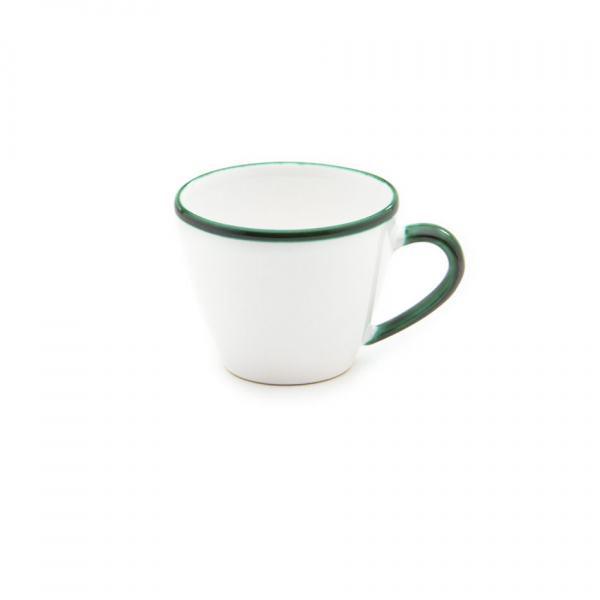 Gmundner Keramik Grüner Rand Kaffeetasse Gourmet (0.2L)