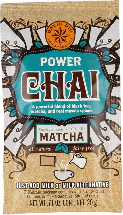 David Rio Power Chai Matcha Tüte 20g