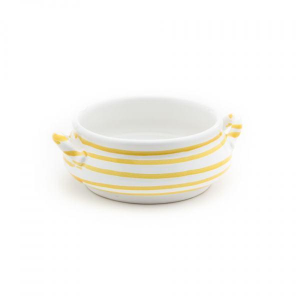 Gmundner Keramik Gelbgeflammt Suppenschale (0.37L)