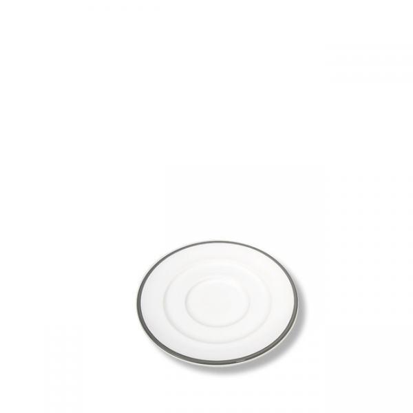 Gmundner Keramik Grauer Rand Unterteller Expresso Gourmet 11cm