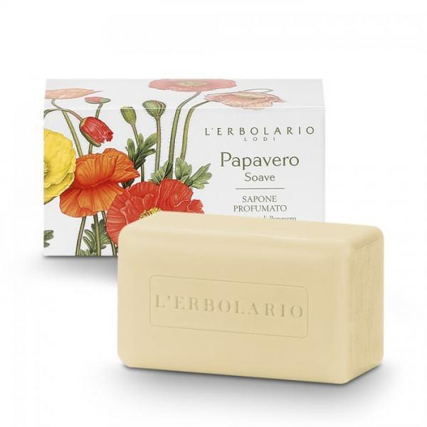 L'erbolario PAPAVERO SOAVE Parfüm Seife 100 g