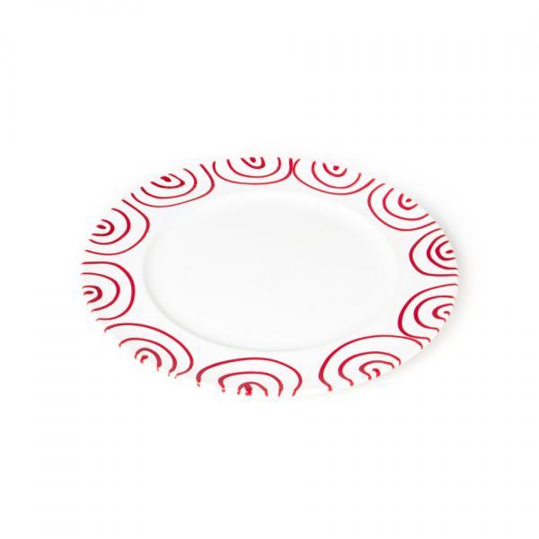 Gmundner Keramik Rotgeflammt Speiseteller Gourmet 27cm
