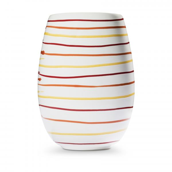 Gmundner Keramik Landlust Vase H: 21cm