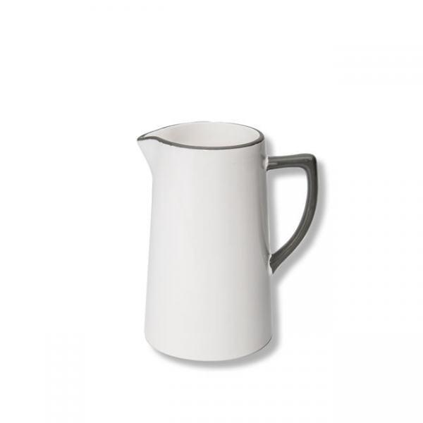 Gmundner Keramik Grauer Wasserkrug 0,7L