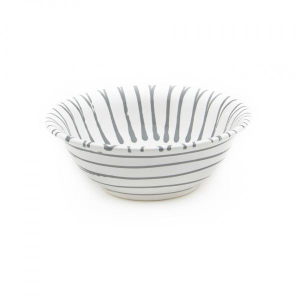 Gmundner Keramik Graugeflammt Salatschüssel Ø 20cm