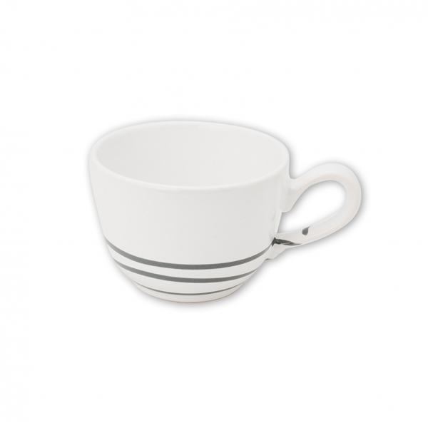 Gmundner Keramik Pur Geflammt Grau, Kaffeetasse glatt (0,19L)