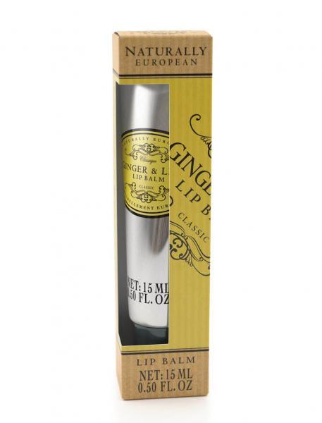 Naturally European Lip Balm Ginger 15 ML