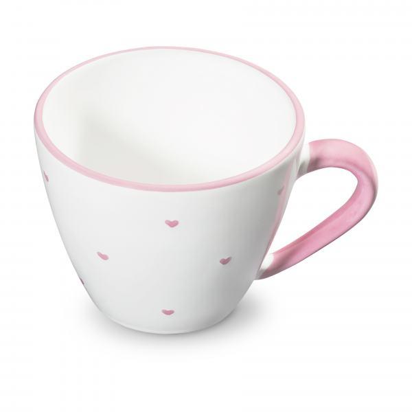 Gmundner Keramik Herzerl Rosa Kaffeetasse Gourmet (0,2L)