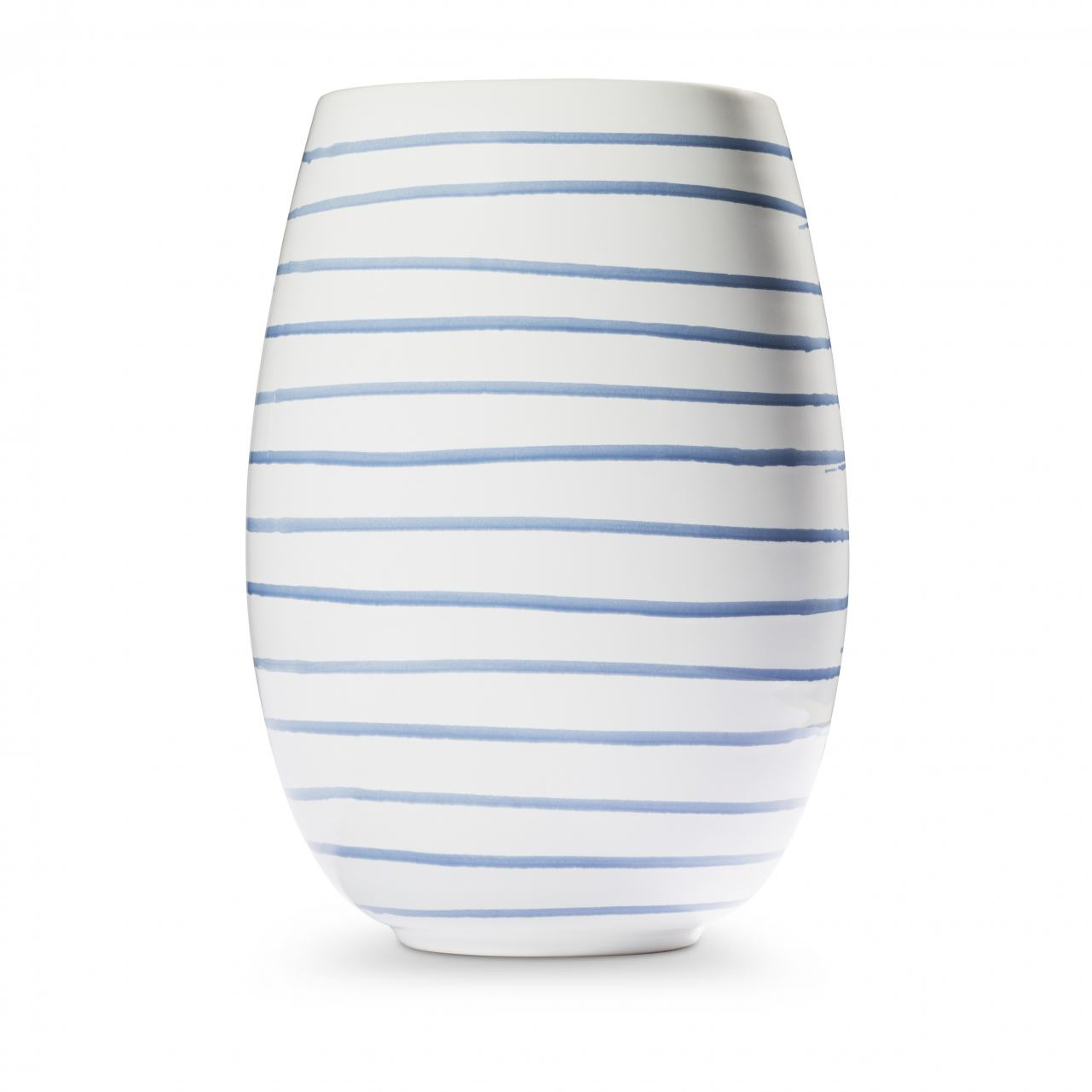 Gmundner Keramik Blaugeflammt Vase H: 21cm