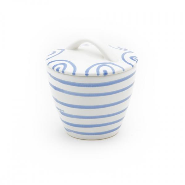 Gmundner Keramik Blaugeflammt Zuckerdose Gourmet (Ø 9cm)