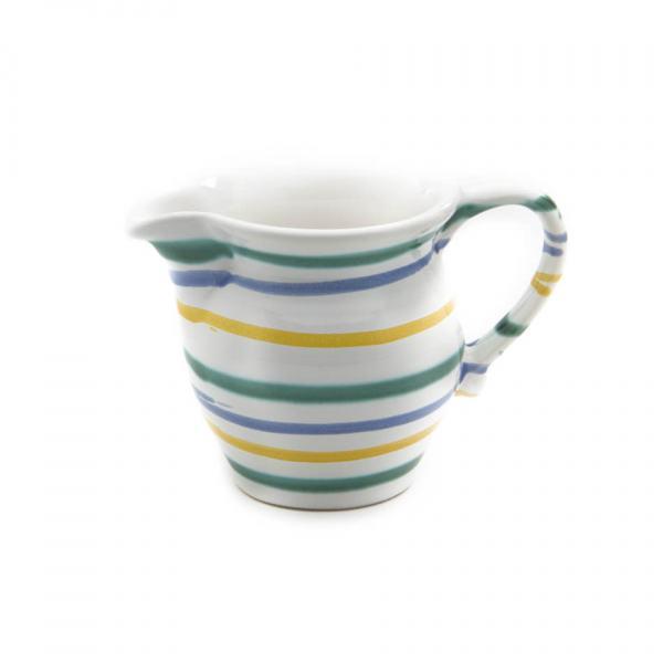 Gmundner Keramik Buntgeflammt Milchgießer glatt 0.5L