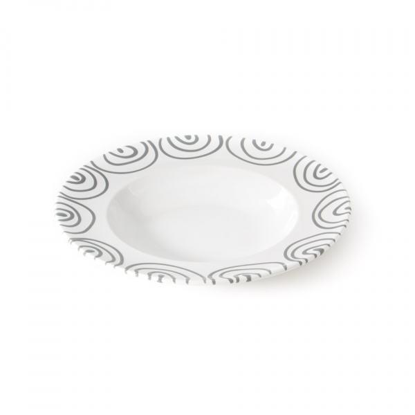 Gmundner Keramik Graugeflammt Pastateller Gourmet 29cm