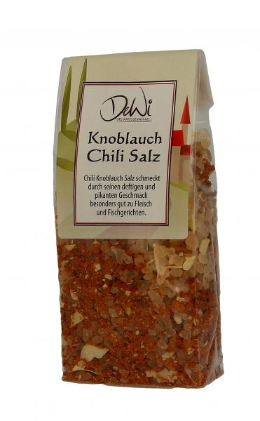 DeWi Knoblauch Chili Salz in der Tüte 180g