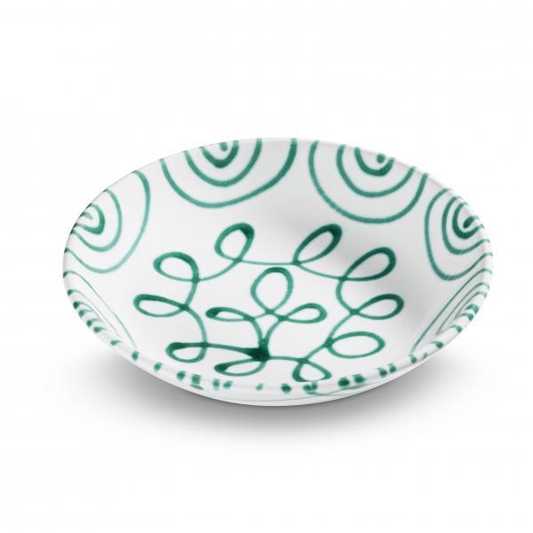 Gmundner Keramik Grüngeflammt Suppenteller Cup (Ø 20cm)