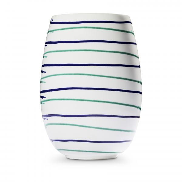Gmundner Keramik Traunsee Vase H: 21cm