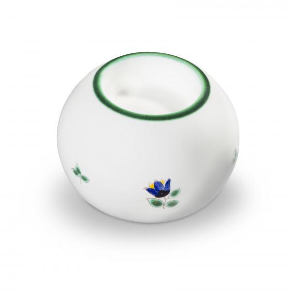 Gmundner Keramik Streublumen Kugel-Leuchter/ 1 Teelicht