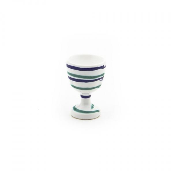 Gmundner Keramik Traunsee Eierbecher glatt (H: 7.5cm)