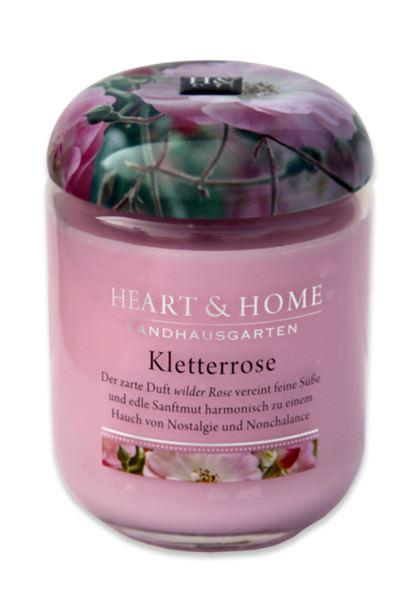 Heart & Home Duftkerze klein Kletterrose 110gr