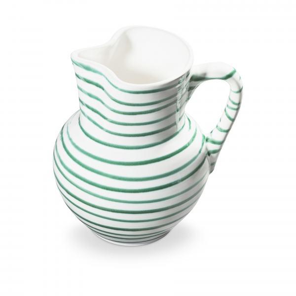 Gmundner Keramik Grüngeflammt Krug Wiener Form (1.5L)