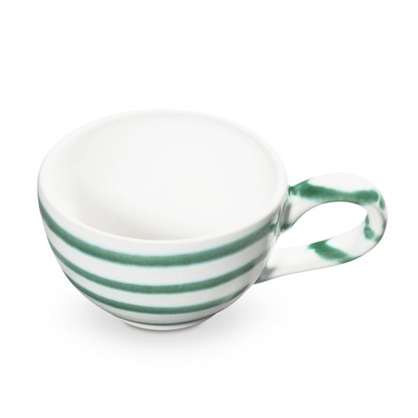 Gmundner Keramik Grüngeflammt Mokkatasse glatt 0.06L