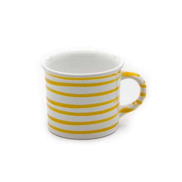 Gmundner Keramik Gelbgeflammt Kaffehäferl 0.24L