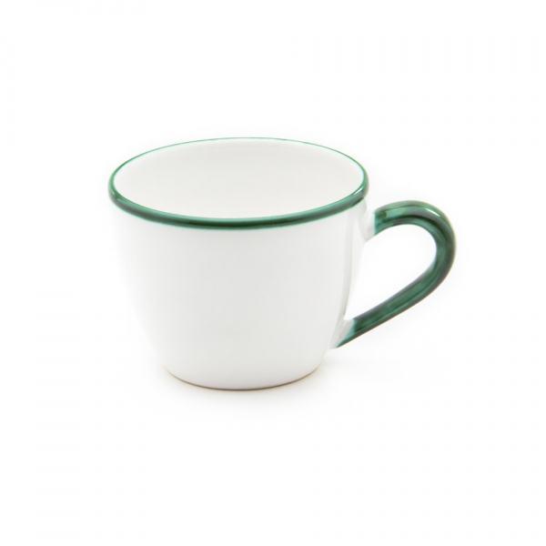 Gmundner Keramik Grüner Rand Teetasse Maxima 0.4L