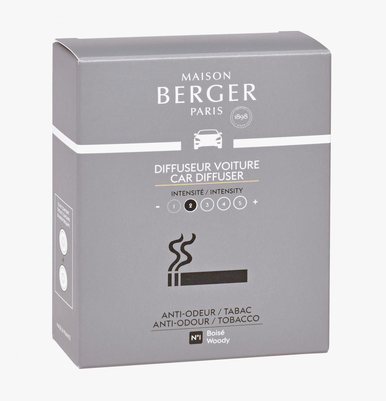 Maison Berger Autoduft Anti Tabakgeruch No1 2 Refill