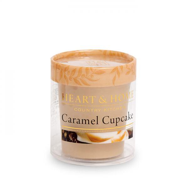 Heart & Home Duftkerze Votiv Caramel Cupcake 52g