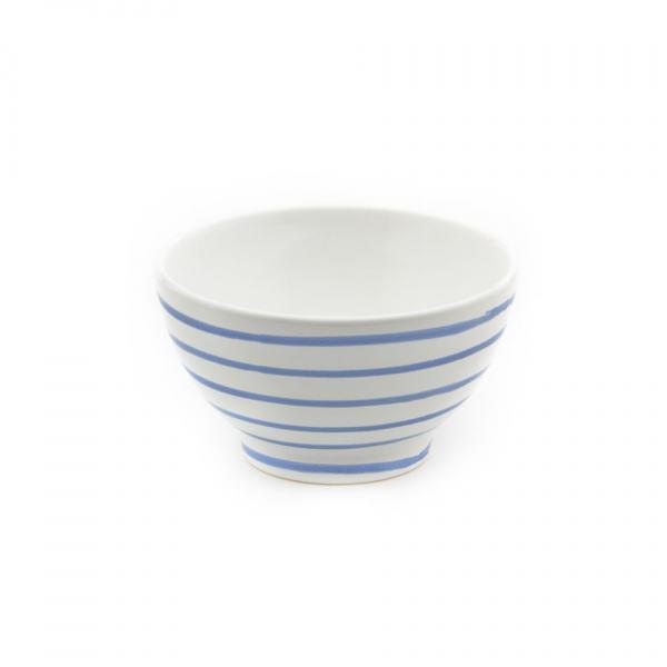 Gmundner Keramik Blaugeflammt Müslischale groß (Ø 14cm)