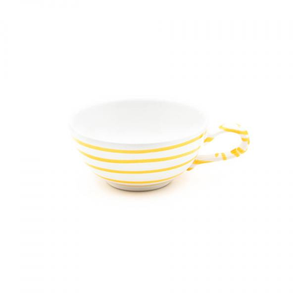 Gmundner Keramik Gelbgeflammt Teetasse glatt 0.17L