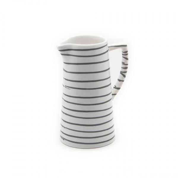 Gmundner Keramik Graugeflammt Wasserkrug 1.2L