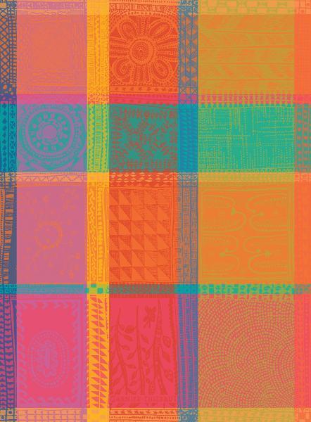 Garnier Thiebaut Geschirrtuch Mille Wax Creole 56x77cm