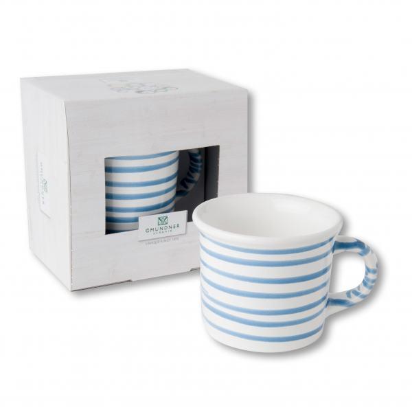 Gmundner Keramik Blaugeflammt Kaffeehäferl (0.24 L)