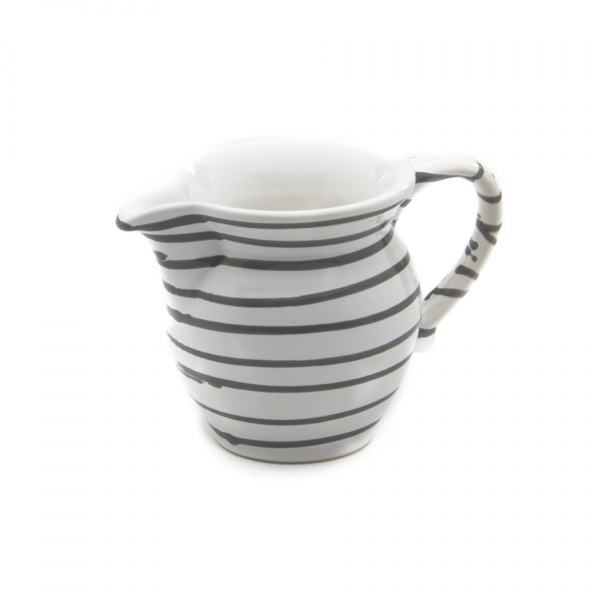 Gmundner Keramik Graugeflammt Milchgießer glatt 0.3L