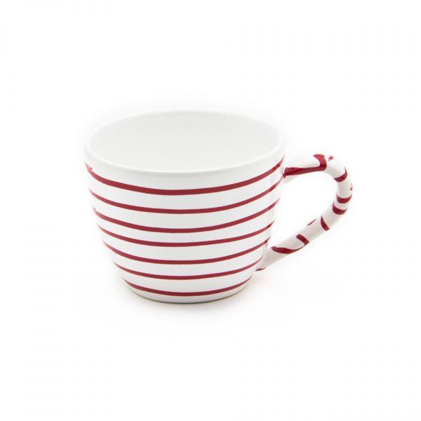 Gmundner Keramik Rotgeflammt Teetasse Maxima 0.4L