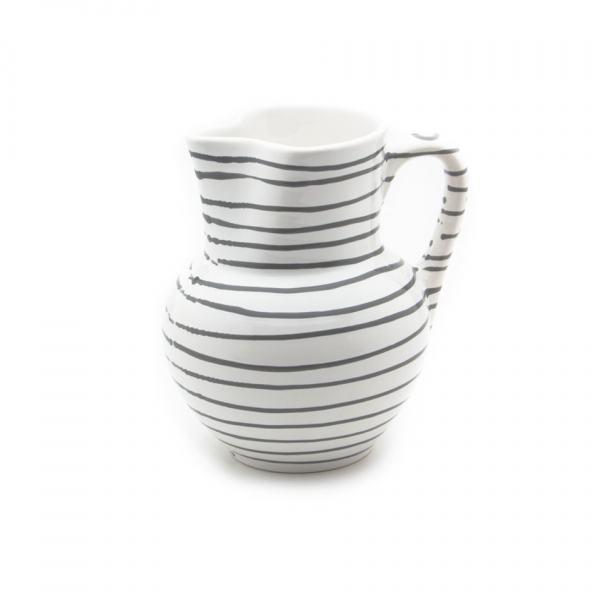 Gmundner Keramik Graugeflammt Krug Wiener Form 1.5L