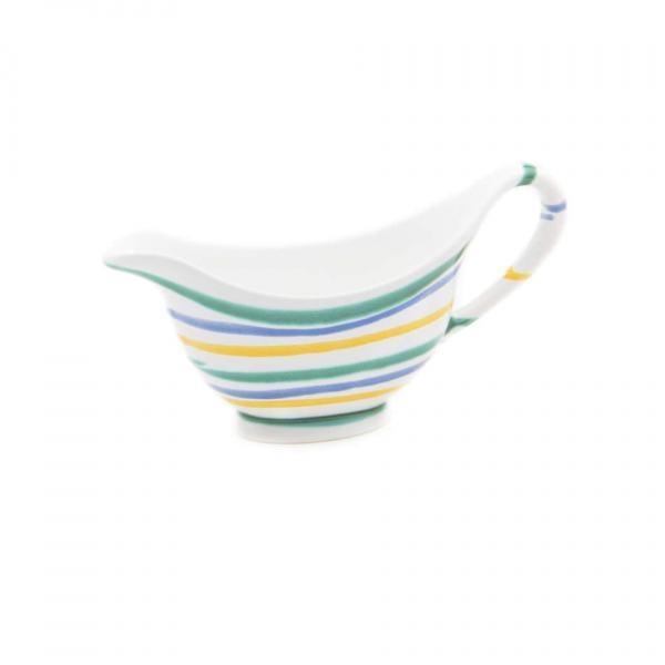 Gmundner Keramik Buntgeflammt Sauciere (0.2L)