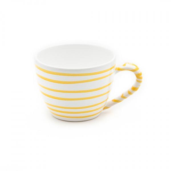 Gmundner Keramik Gelbgeflammt Teetasse Maxima 0.4L